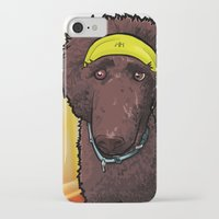 poodle iPhone & iPod Cases featuring Hobbes (poodle) by BinaryGod.com