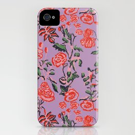 Abstract Florals iPhone Case