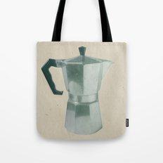 Coffee Blues Tote Bag