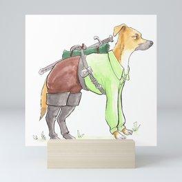 DogDays19 Torveig Mini Art Print