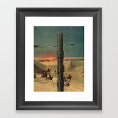 final marker Framed Art Print