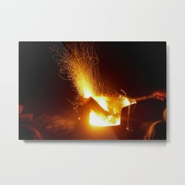 The Fire Has Life Metal Print