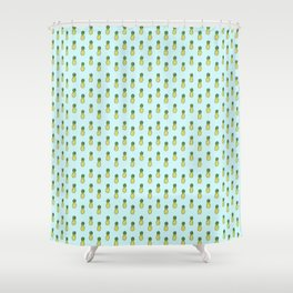 Pineapples 3.0 Shower Curtain