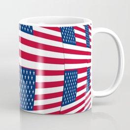 Flag of Usa 8- america,us,united states,american,spangled,star and strips Coffee Mug