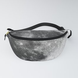 Love You to the Moon and Back   Moon   Night Sky Fanny Pack