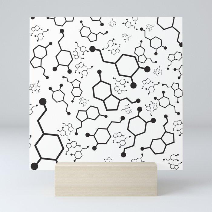 Serotonin and Dopamine Mini Art Print