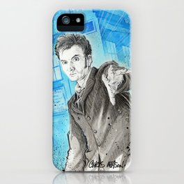 Doctor Who: The 10th Doctor iPhone Case
