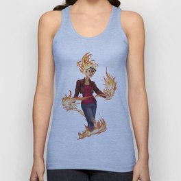 Modern Chandra Unisex Tank Top