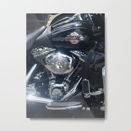 Harley Electra-Glide Metal Print