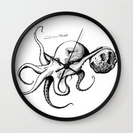 Octopuspace Wall Clock