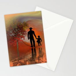 sky is on fire and I must go -2- Stationery Cards