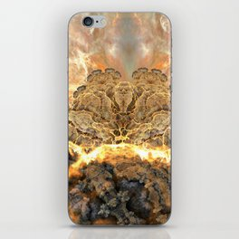 Coral Above the Sun iPhone Skin