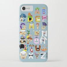 Breakfast Mascot Alphabet Slim Case iPhone 7