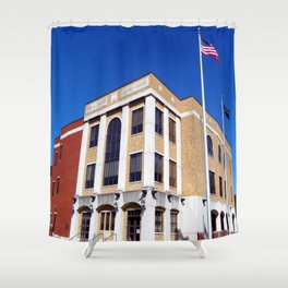 Harlan County, KY Justice Center Shower Curtain