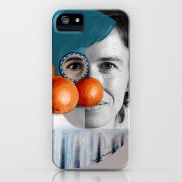 The ORANGEGIRL iPhone Case