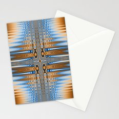Abstract stained glass  Stationery Cards