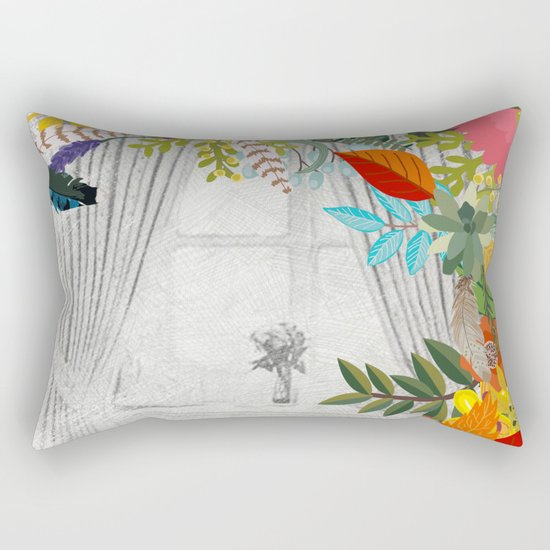 Flowers bouquet #14 Rectangular Pillow