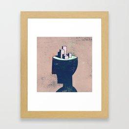 cityhead Framed Art Print