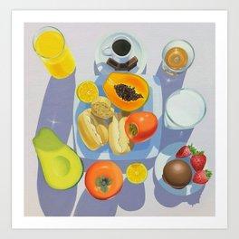 Brazilian Breakfast Art Print
