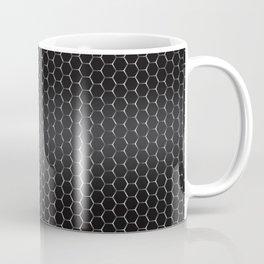 Metal Honeycomb Grid Background Pattern Coffee Mug