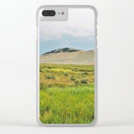 Flood Plains Clear iPhone Case