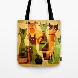 CAT HERD Tote Bag