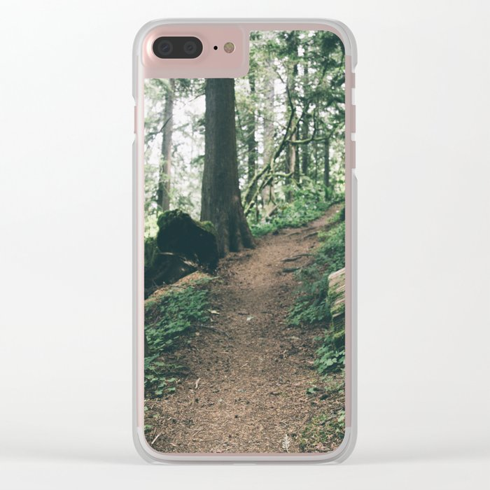 Happy Trails XI Clear iPhone Case