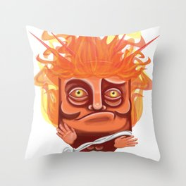 Victory helios Throw Pillow