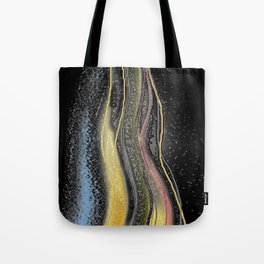 Fire and Ice Digital Painting Tote Bag