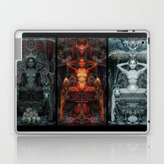 Triptych: Shakti - White Goddess Laptop & iPad Skin