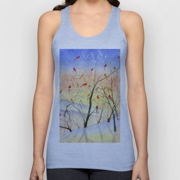 Winter Song Unisex Tank Top