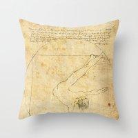 da vinci Throw Pillows featuring Break-Da (vinci) nce by boonheilig