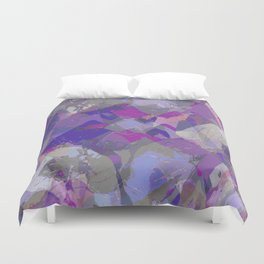 Moon Beam Abstract Duvet Cover