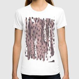 Rose and Dark Violet T-shirt