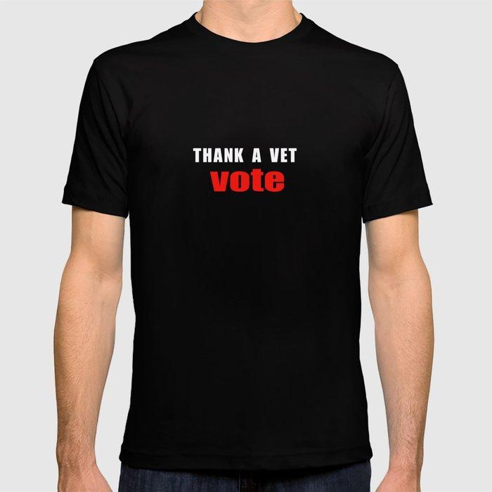 Thank A Vet Vote T-shirt