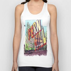 Greetings from Fern Hill Unisex Tank Top