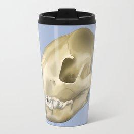 hyena skull Travel Mug