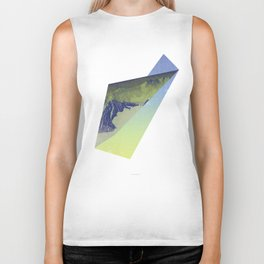 Triangle Mountains Biker Tank