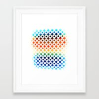 planets Framed Art Prints featuring planets by sustici
