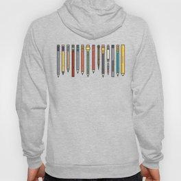 Vintage Pencil Collection Hoody