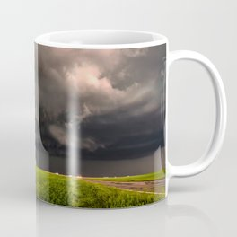 May Thunderstorm - Twisting Storm Over House in Colorado Coffee Mug