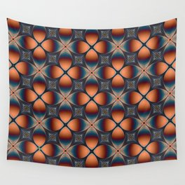 Metallic Deco Copper Wall Tapestry