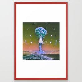 November Skies Framed Art Print