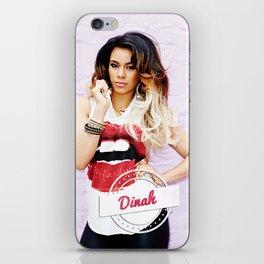Dinah Jane with vintage logo iPhone Skin