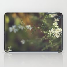 autumn white iPad Case