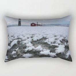 Frozen water Rectangular Pillow
