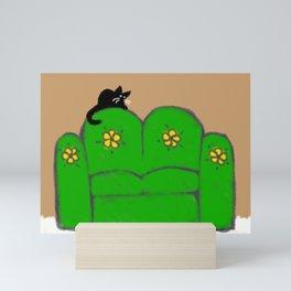 Comfy Couch Mini Art Print