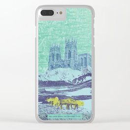 The Lands Where the Reindeer Graze Clear iPhone Case
