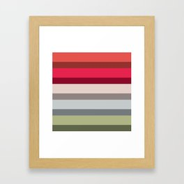 Accordion Fold Series Style H Framed Art Print