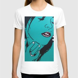 Who's that Girl-Green T-shirt